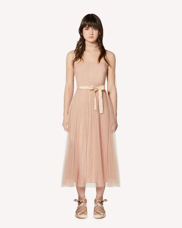 REDValentino SR0VAI20428 KS0 Long and midi dresses Woman f