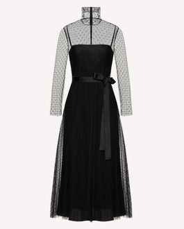 REDValentino Long and midi dresses Woman SR3VAF3834R 0NO a