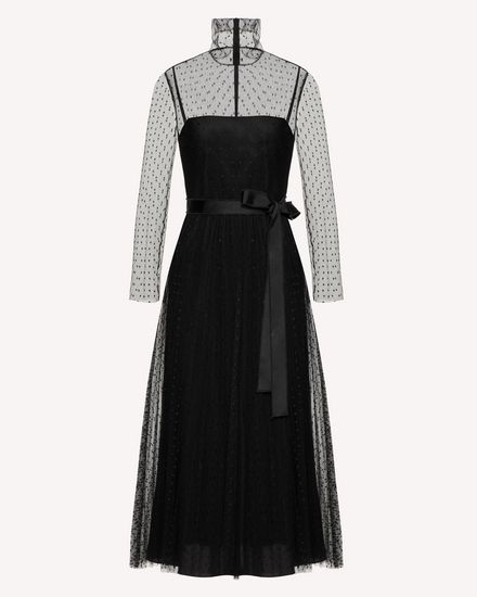 REDValentino Long and midi dresses Woman SR0VAI20428 0NO a