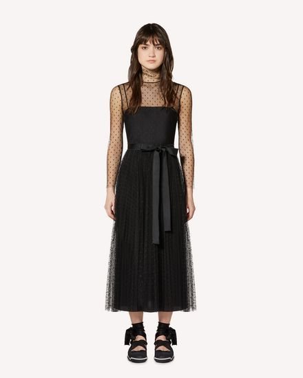 REDValentino Long and midi dresses Woman SR0VAI20428 0NO f