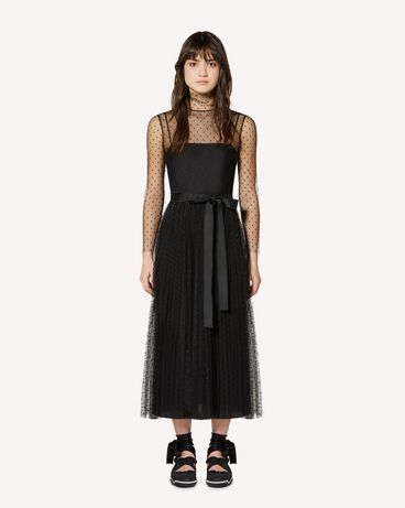 REDValentino SR0VAI20428 0NO Long and midi dresses Woman f