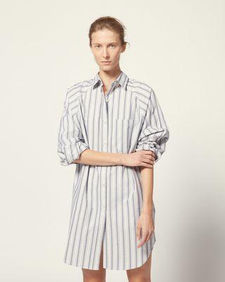 ISABEL MARANT ÉTOILE SHORT DRESS Woman SANDERS DRESS r