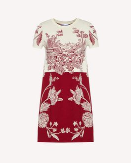REDValentino Knit Dress Woman SR0KDB014MJ 697 a