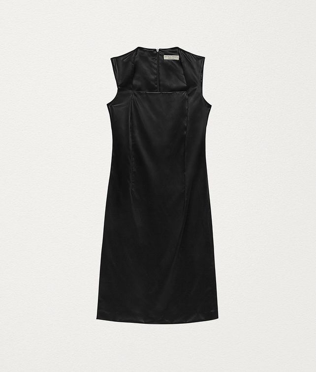 BOTTEGA VENETA DRESS IN TECHNO SATIN Dress Woman fp