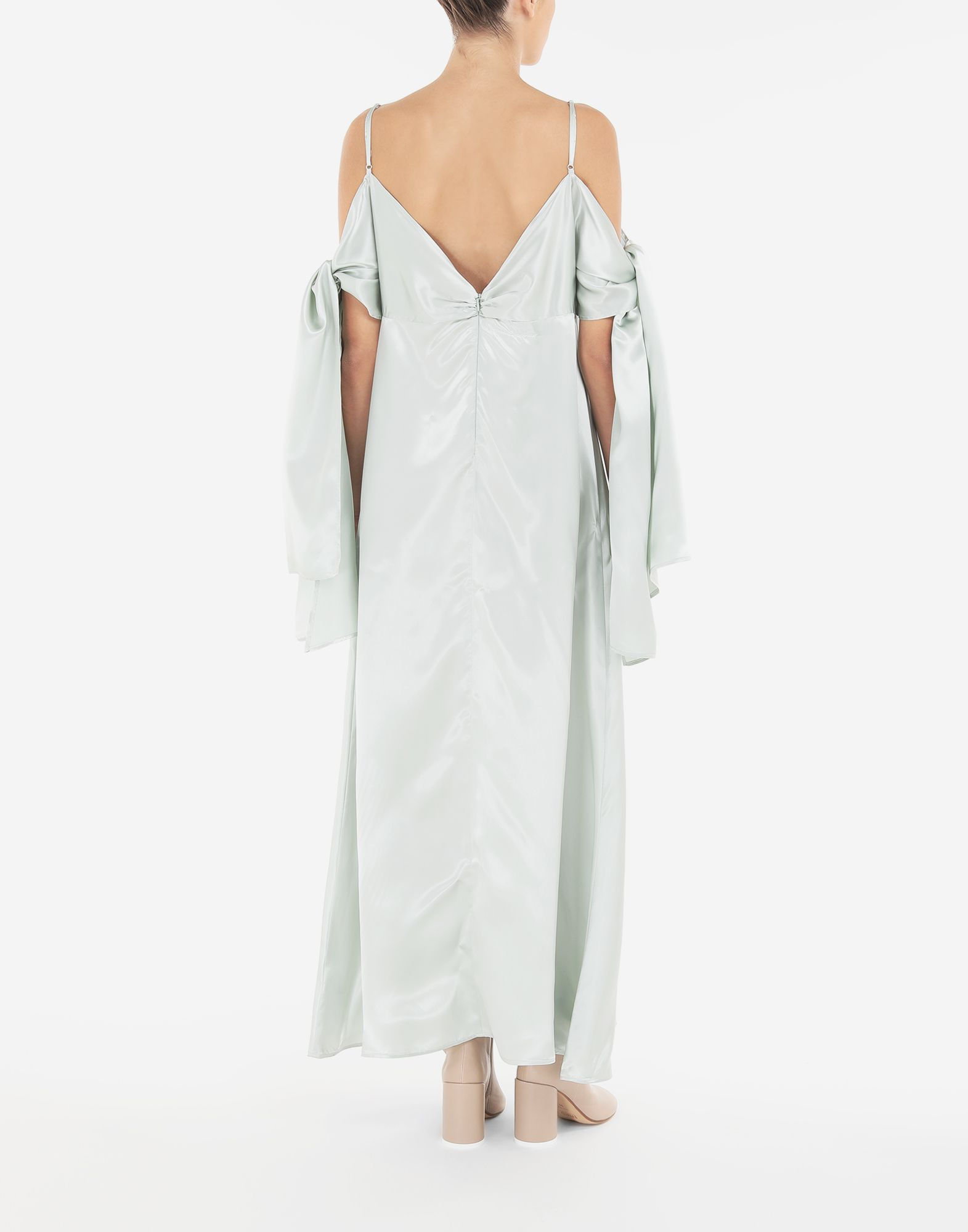 MM6 MAISON MARGIELA Multi-wear satin dress Dress Woman e