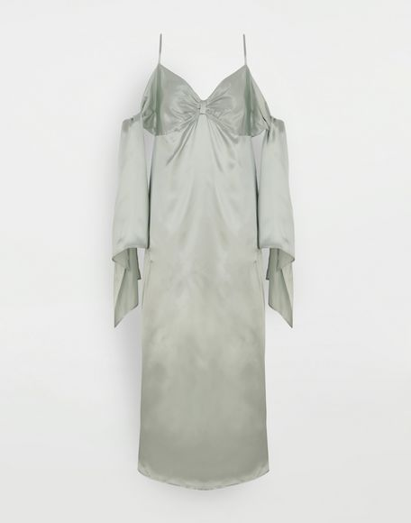 MM6 MAISON MARGIELA Multi-wear satin dress Dress Woman f