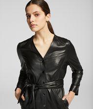 KARL LAGERFELD Leather Dress 9_f