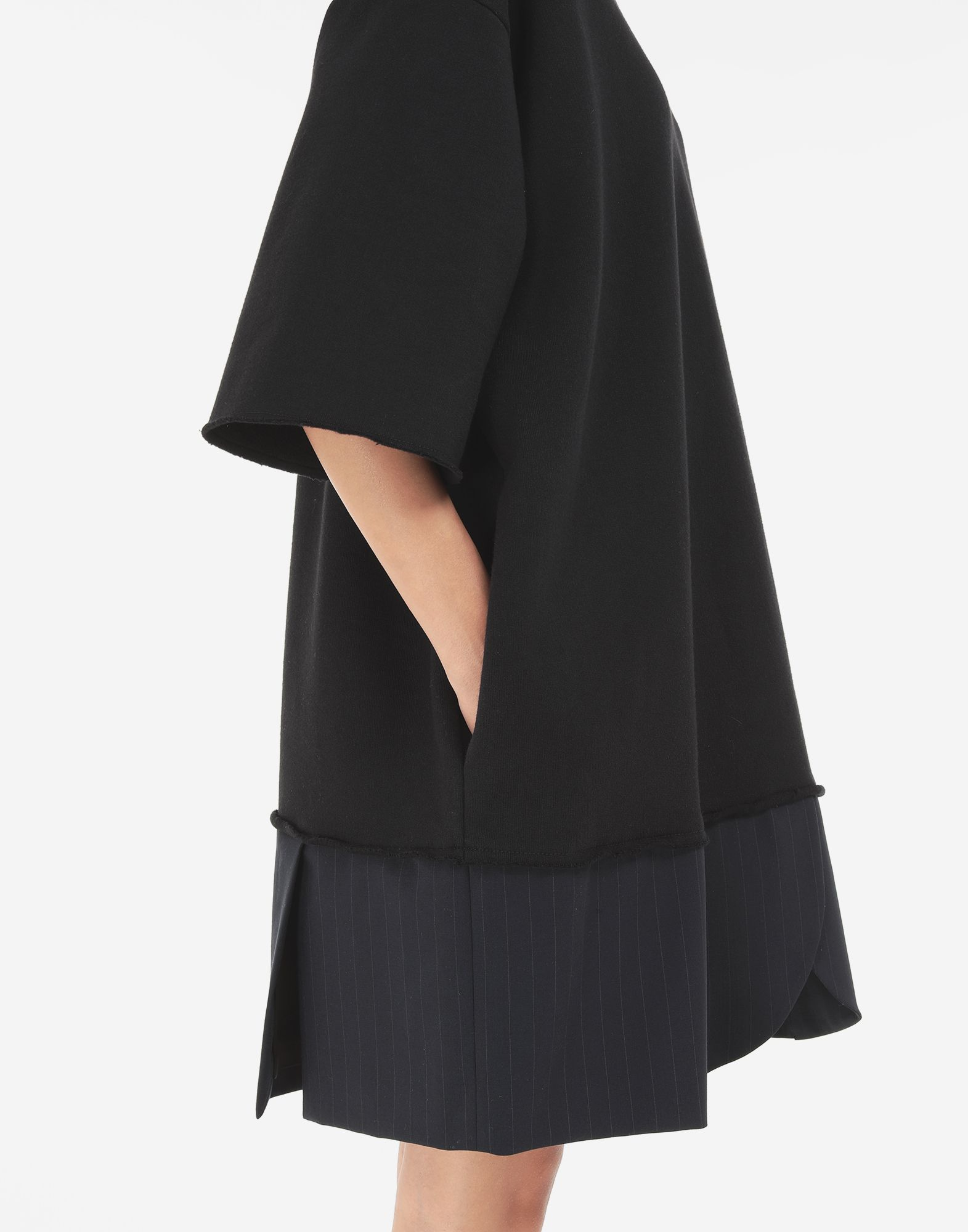 MM6 MAISON MARGIELA Vestido camisero Spliced Minivestido Mujer a