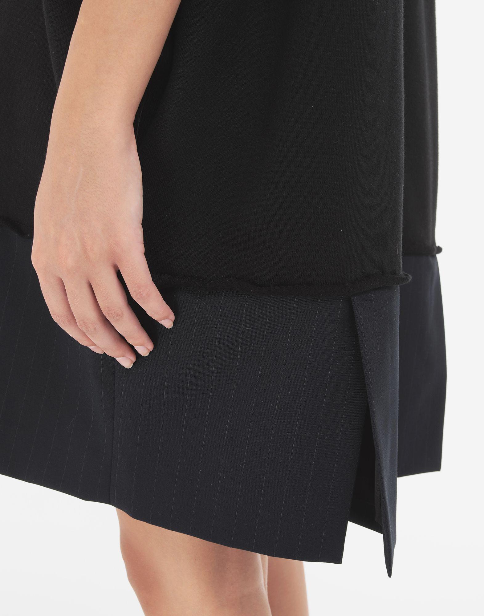 MM6 MAISON MARGIELA Vestido camisero Spliced Minivestido Mujer b