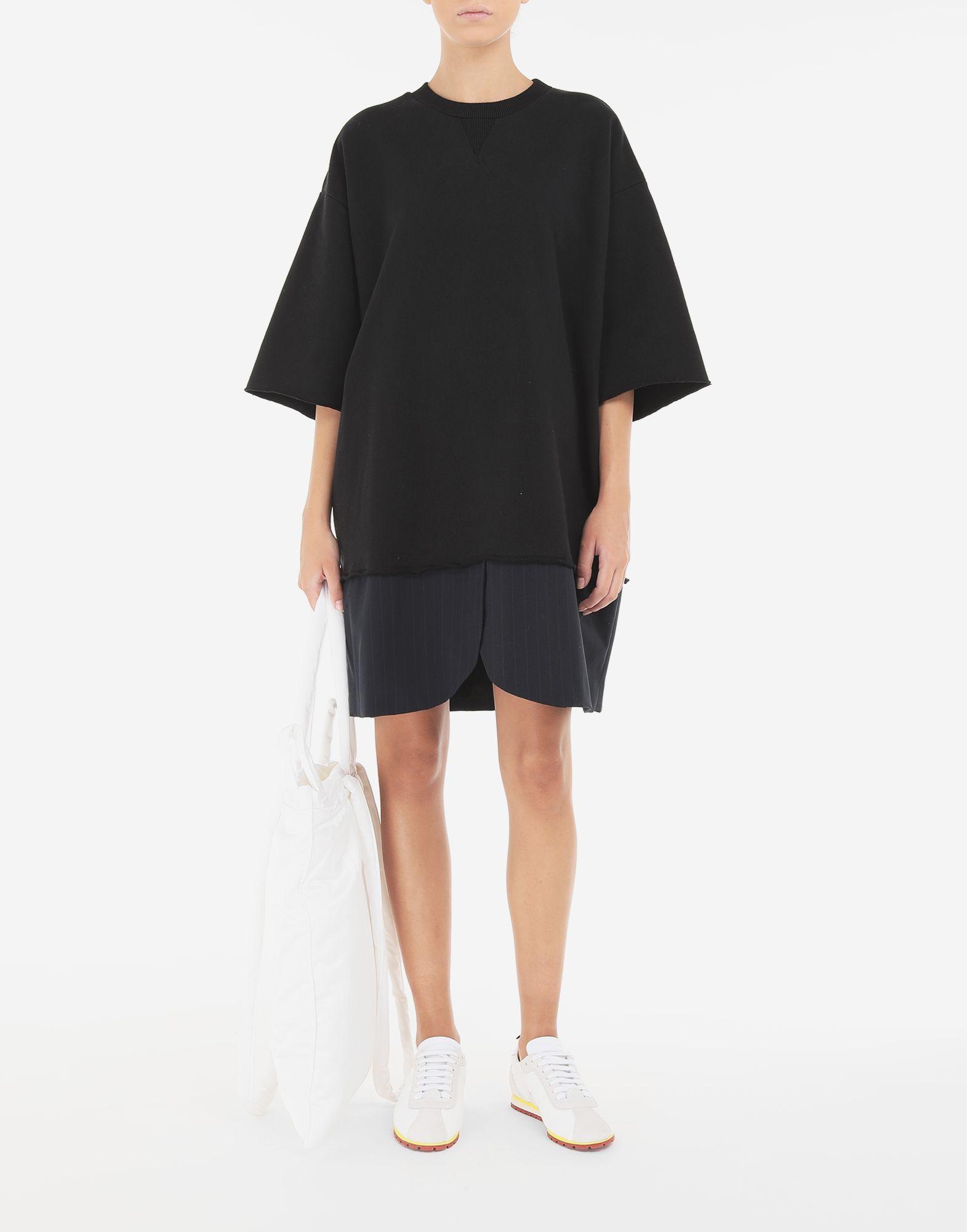 MM6 MAISON MARGIELA Spliced T-shirt dress Dress Woman e