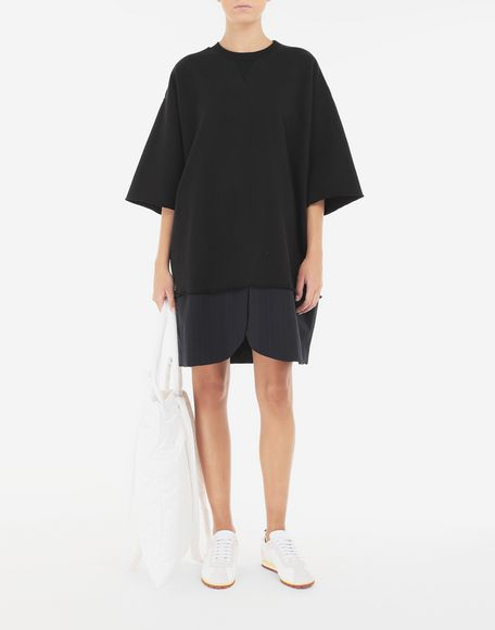 MM6 MAISON MARGIELA Spliced T-shirt dress Short dress Woman e
