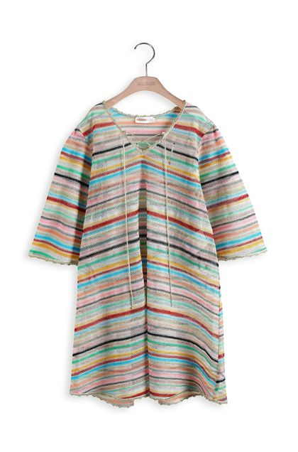 MISSONI KIDS Dress Azure Woman - Back