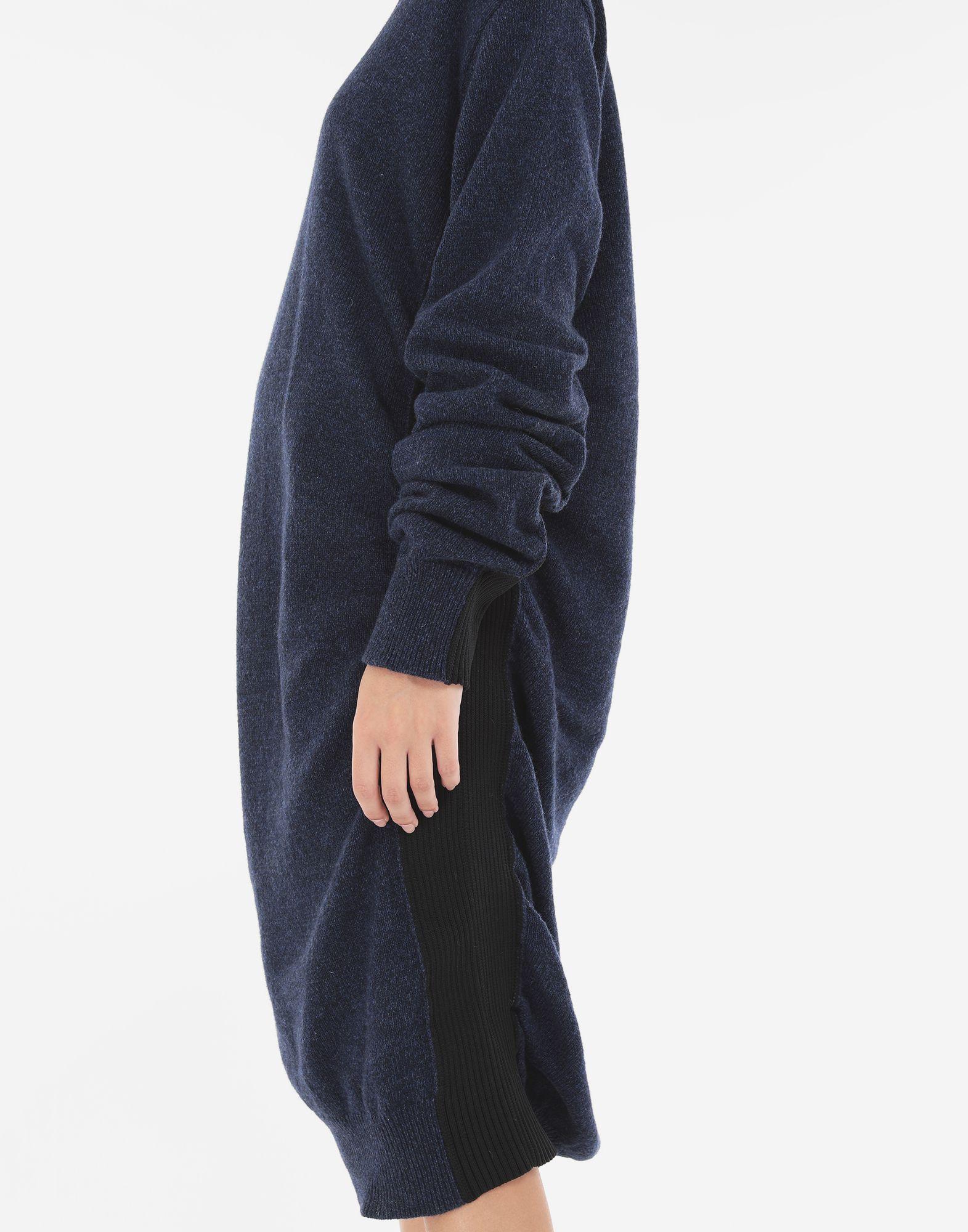 MM6 MAISON MARGIELA Vestido de lana fruncido Minivestido Mujer b