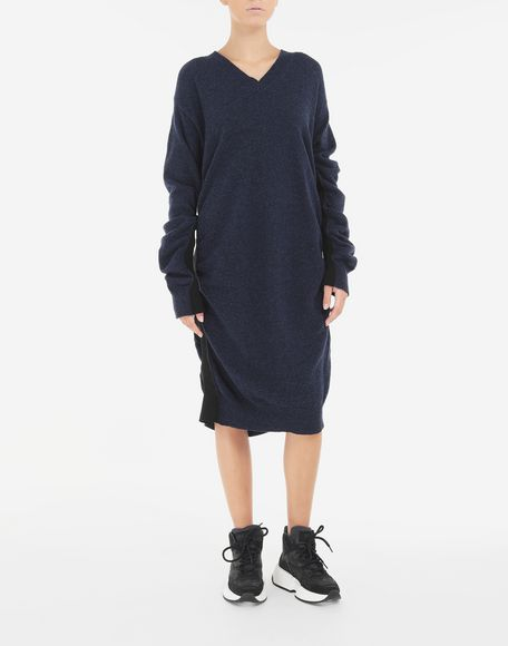 MM6 MAISON MARGIELA Ruched wool dress Dress Woman r
