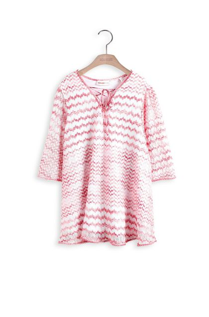 MISSONI KIDS Dress Pink Woman - Back