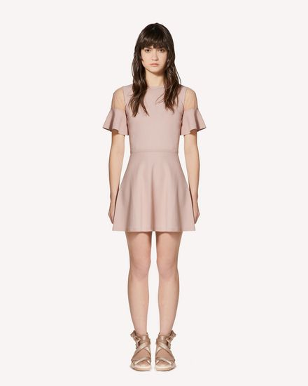 REDValentino Knit Dress Woman SR0KDB084NW KS0 f