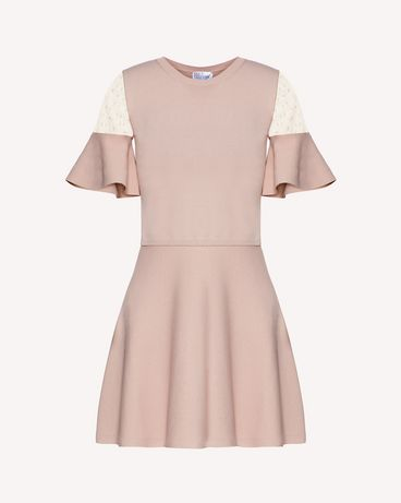 REDValentino SR0KDB084NW KS0 Knit Dress Woman a