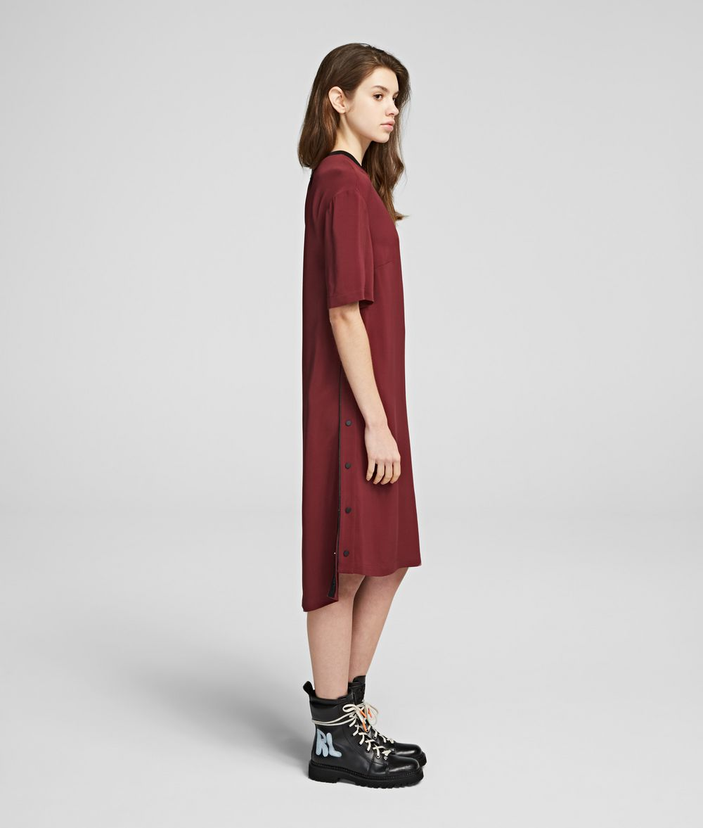 KARL LAGERFELD Snap-Side Dress Dress Woman d