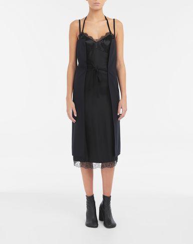 ワンピース・ドレス マルチウェア パネル ドレス ブラック