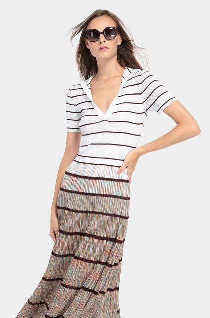 MISSONI Dress White Woman - Front