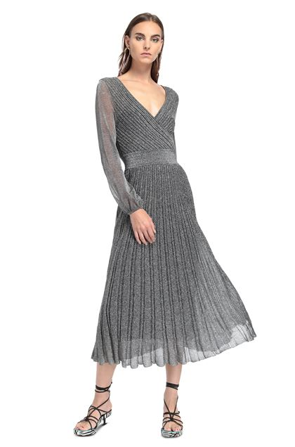 MISSONI Dress Silver Woman - Back
