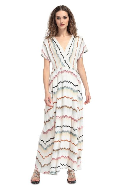 MISSONI Dress White Woman - Back