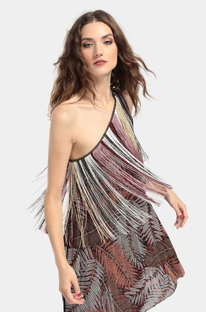 MISSONI Dress Brown Woman - Front