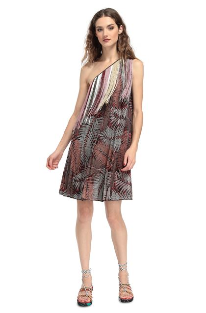 MISSONI Dress Brown Woman - Back
