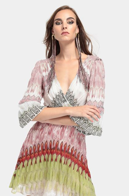 MISSONI Dress Pink Woman - Front