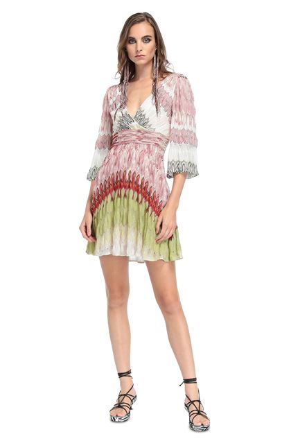 MISSONI Dress Pink Woman - Back