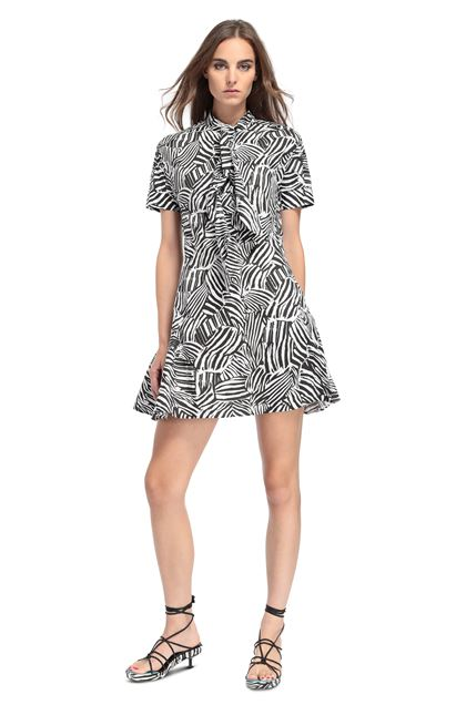 MISSONI Dress Black Woman - Back