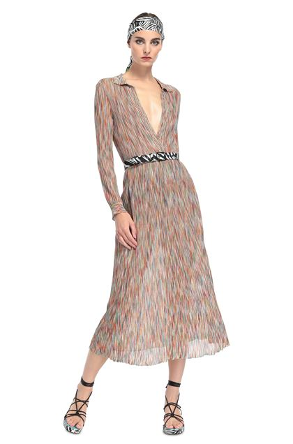 MISSONI Dress Orange Woman - Back