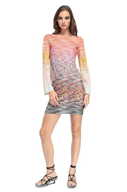 MISSONI Dress Lilac Woman - Back