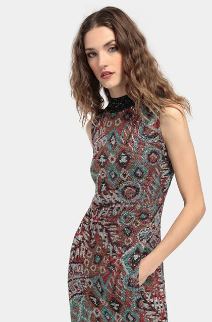 MISSONI Dress Blue Woman - Front