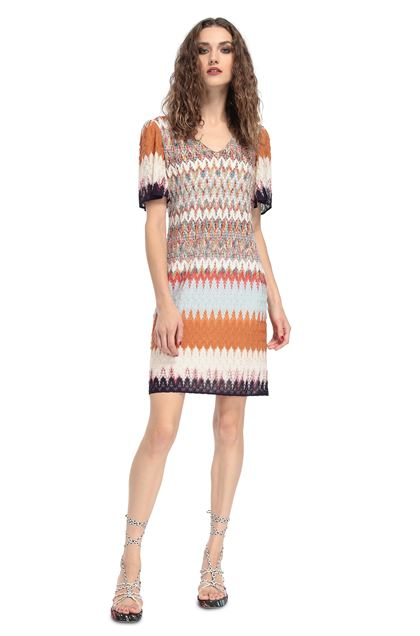 MISSONI Kleid Orange Dame - Rückseite