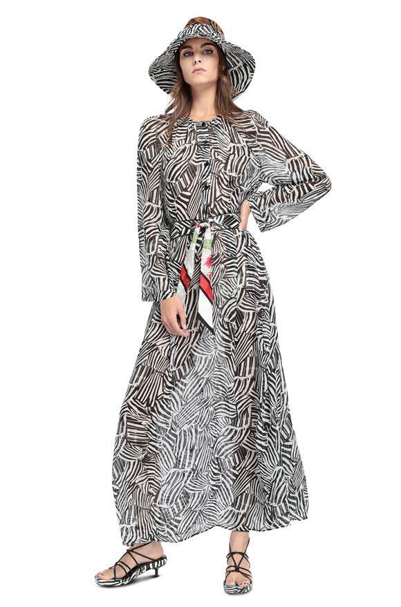 MISSONI Vestido largo Mujer, Vista frontal