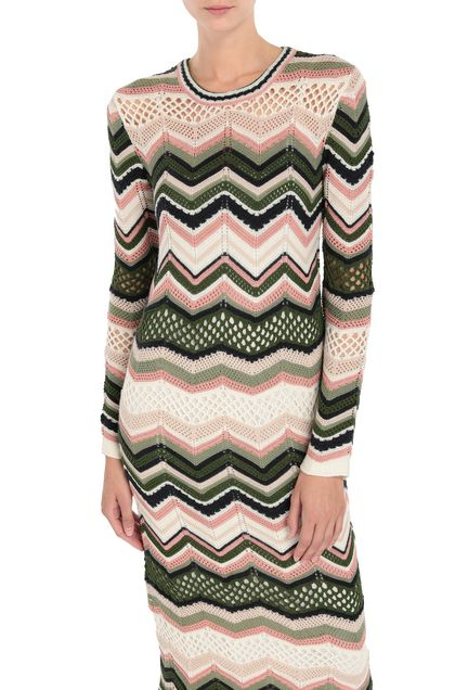 M MISSONI Dress Ivory Woman - Front
