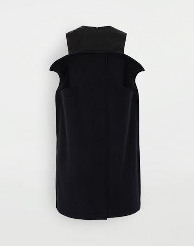 ПЛАТЬЯ Шерстяное платье-бюстье Синий