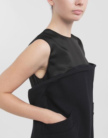 MAISON MARGIELA Bustier wool dress Dress Woman b
