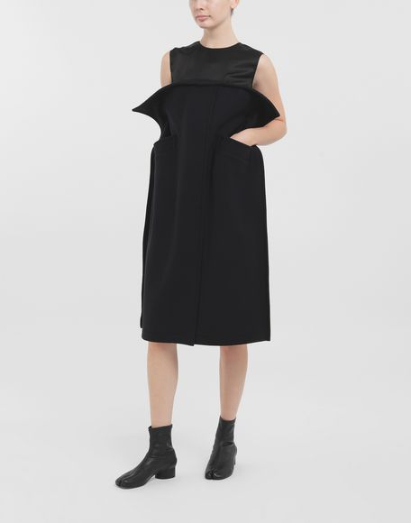 MAISON MARGIELA Bustier wool dress Dress Woman d