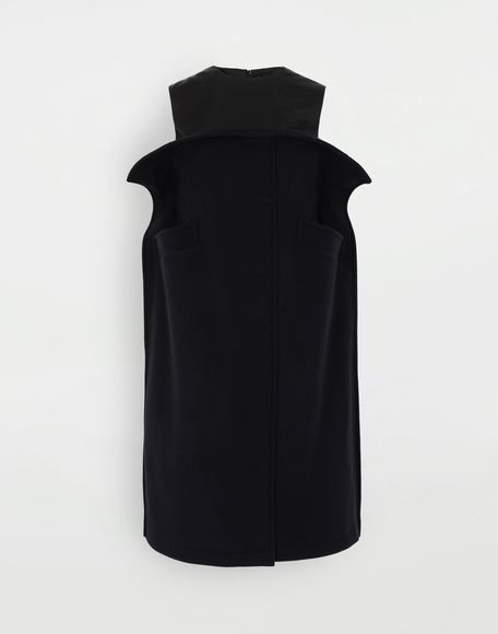 MAISON MARGIELA Bustier wool dress Dress Woman f