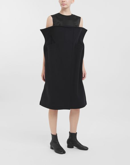 MAISON MARGIELA Bustier wool dress Dress Woman r