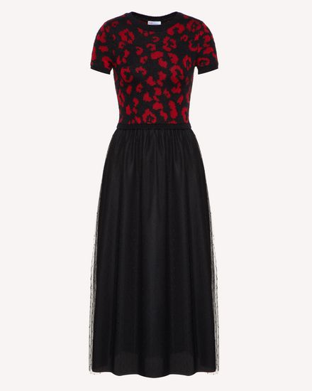 REDValentino Knit Dresses_NONUSARE Woman SR0KDA984LS 0NO a