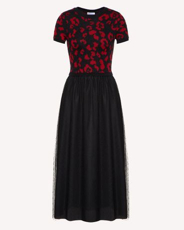 REDValentino SR0KDA984LS 0NO Long and midi dresses Woman a