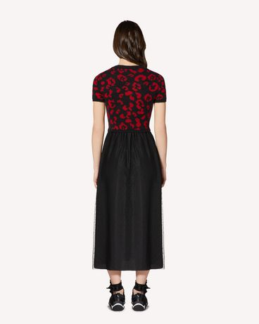 REDValentino SR0KDA984LS 0NO Long and midi dresses Woman r