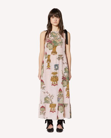 REDValentino Printed dress Woman SR0VAI054HP KY0 f