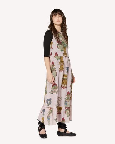 REDValentino SR0VAI054HP KY0 Long and midi dresses Woman d