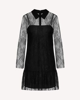 REDValentino Short dress Woman SR3VA03G4CB 0NO a