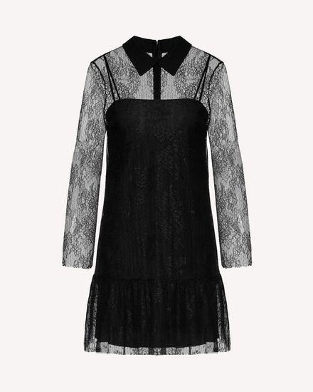 REDValentino Short dress Woman SR0VAH554JK 0NO a