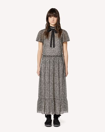 REDValentino SR0VAI854JV 031 Long and midi dresses Woman f